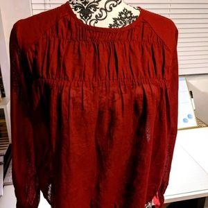 🔥2/$30🔥Aritzia Talula blouse-EUC sz XS